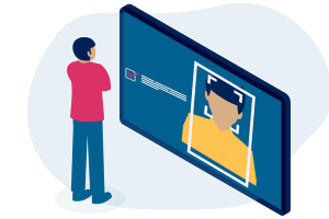 app tablet reconhecimento facial